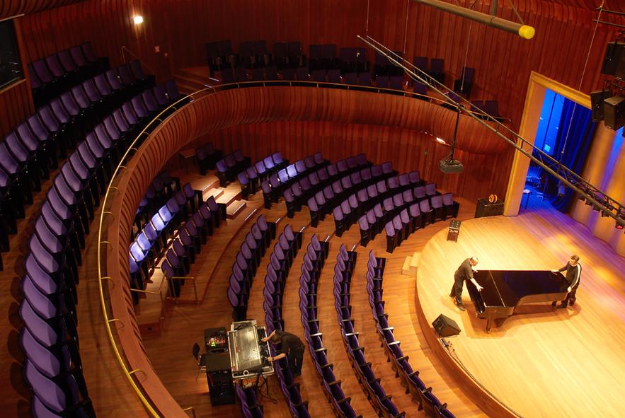 Kleine zaal Philharmonie te Haarlem